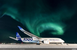 News from Airbus – A350-1000 completes extreme cold weather testing in Iqaluit