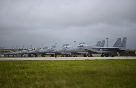 Combat airpower dominates the skies during Cope North 17